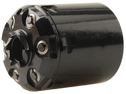 Howell's Old West Semi Drop In Conversions Drop-In Conversion Cylinder 36 Caliber Pietta 1851-1861 Navy Steel Frame Black Powder Revolver 38 Colt (Long Colt) 6-Round Blue