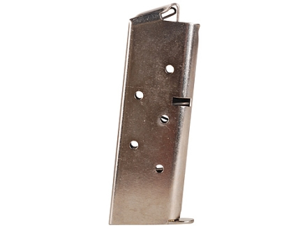 Colt Magazine Colt Mustang 380 ACP 6-Round Steel Nickel Plated