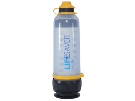 Lifesaver Water Filtration Bottle Polymer 25.3 Oz