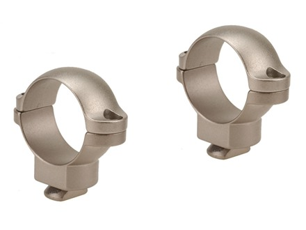 Leupold 1&quot; Dual-Dovetail Rings Silver Medium