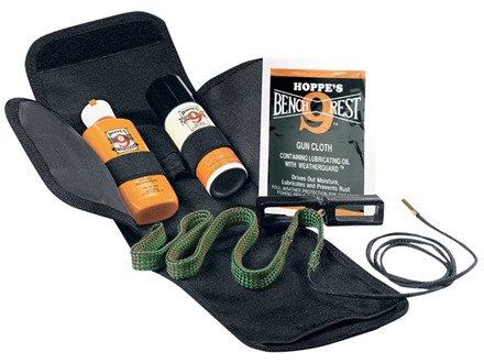 Hoppe's BoreSnake Soft-Sided Pistol Cleaning Kit 9mm, 38, 357 Caliber