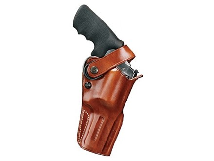 "Galco D.A.O. Dual Action Outdoorsman Belt Holster Right Hand 4"" S&W K, L Frame, Ruger GP100, Security Six, Speed Six, Colt King Cobra, Python, Cobra Leather Tan"
