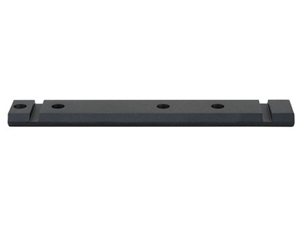 Warne Maxima 1-Piece Aluminum Weaver-Style Scope Base Remington 740, 742, 760  Matte