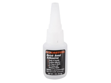 Easton Quick Bond Arrow Fletching and Insert Adhesive 1 oz Tube