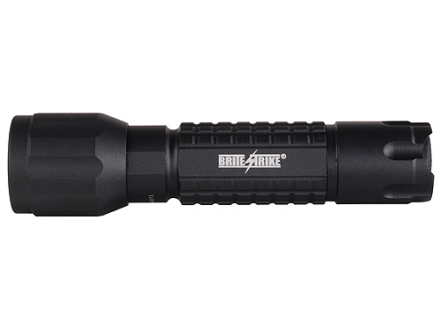 Brite Strike BTL-150-HLS Basic Tactical Flashlight LED Bulb with Hi/Lo, Strobe, and Batteries Aluminum Black