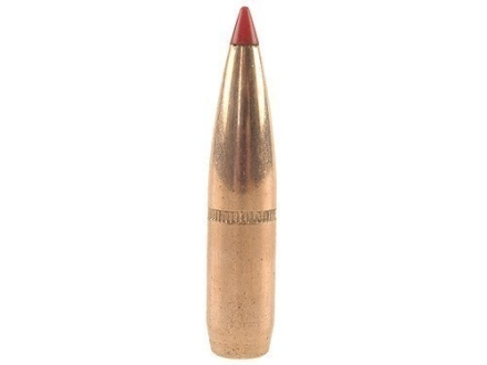 Hornady InterLock Bullets 264 Caliber, 6.5mm (264 Diameter) 129 Grain SST Boat Tail Box of 100