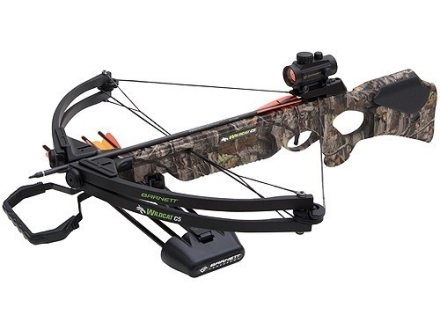 Barnett Wildcat C5 Crossbow Package with Red Dot Sight Realtree Hardwoods Camo