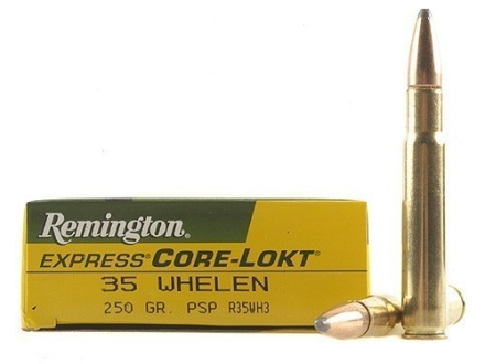 Remington Express Ammunition 35 Whelen 250 Grain Core-Lokt Pointed Soft Point Box of 20