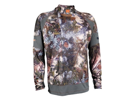 APX Men&#39;s L1 Alpine Base Layer Shirt Long Sleeve Polyester