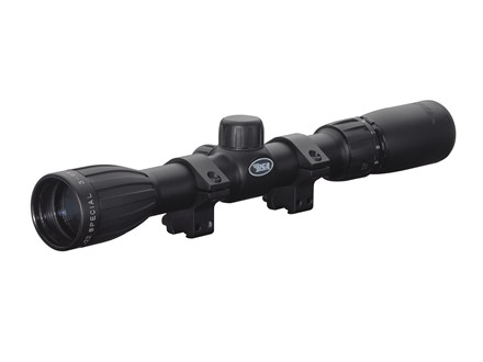 BSA 22 Special Rifle Scope 3-9x 32mm Duplex Reticle Matte with Rings