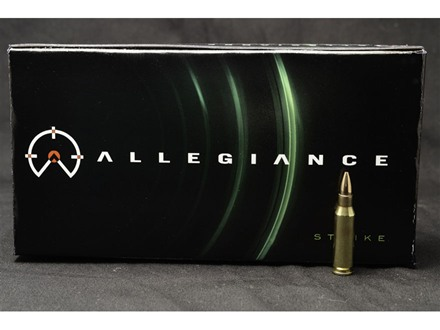 Allegiance Ammunition 4.6x30 HK 40 Grain Full Metal jacket Box of 40