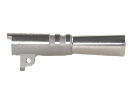 "Storm Lake Semi-Drop-In Barrel 1911 Officer 45 ACP 1 in 16"" Twist 3-1/2"" Stainless Steel"
