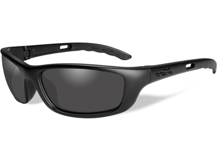 Wiley X Black Ops P-17 Sunglasses Smoke Gray Lens