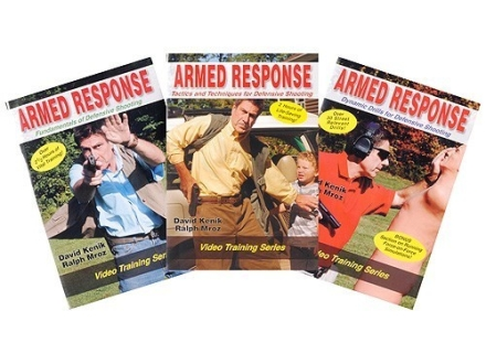 "David Kenik Video ""Armed Response: 3 Disk Set"" DVD"