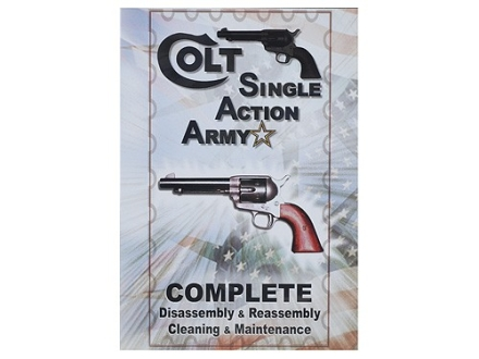 "Competitive Edge Gunworks Video ""Colt Single Action Army Complete Disassembly and Reassembly, Cleaning and Maintenance"" DVD"