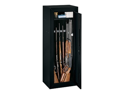 Stack-On 14-Gun Security Cabinet Without Side Wall Foam Black