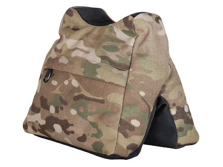 CrossTac Saddle Bag Front Shooting Rest Bag Nylon and ToughTek Multicam Camo/Black