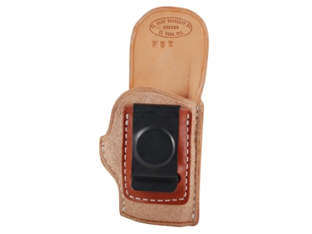 El Paso Saddlery EZ Carry Inside the Waistband Holster Right Hand Kel-Tec P32, P3AT, Ruger LCP Leather Natural