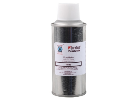 Lauer DuraBake Firearm Finish White 6 oz Aerosol