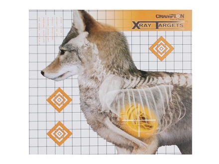 "Champion XRay Coyote Target 18-3/4"" x 16-3/4"" Package of 6"
