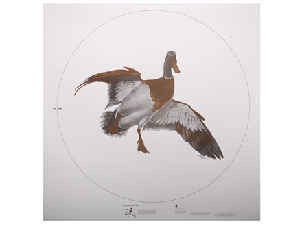 NRA Official Lifesize Game Target Mallard Paper Package of 25