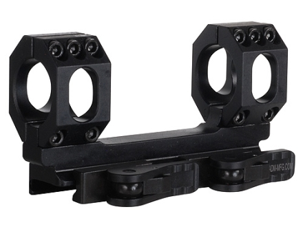 American Defense Recon-S Quick-Release Scope Mount Picatinny-Style with 1&quot; Rings AR-15 Flat-Top Matte