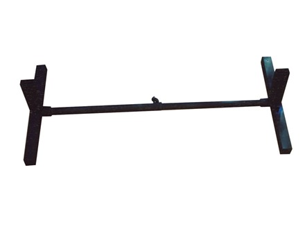 Blu-Arc IDPA/IPSC Target Master T-2 Portable Target Stand Steel Black