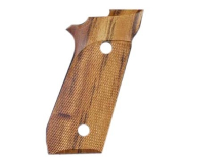Hogue Fancy Hardwood Grips Taurus PT99 with Frame Mounted Safety Checkered Goncalo Alves