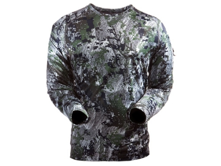 Sitka Gear Men's Core Crew Base Layer Shirt Long Sleeve Polyester