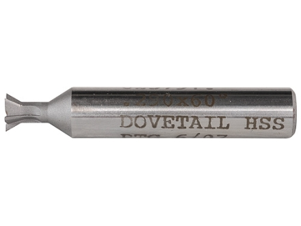 "PTG Dovetail Sight Base Cutter .290"" x 60-Degree High Speed Steel"