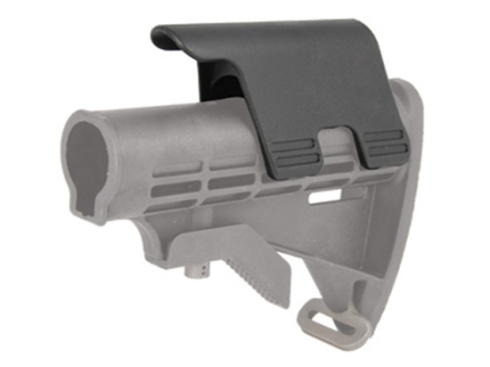 "Command Arms Snap On Cheek Piece for M4-Style Collapsible Stock 1.25"" Height Polymer Black"