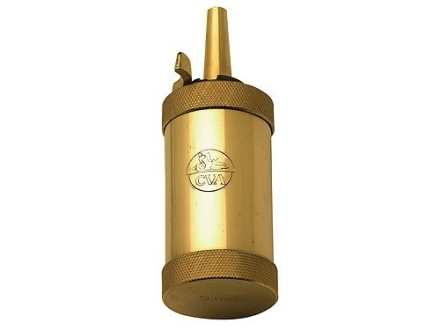 CVA Powder Flask Brass 2.5 oz