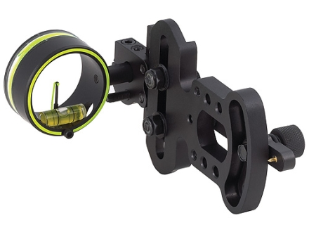 "HHA Sports Optimizer Lite OL-3000 1-Pin Bow Sight .029"" Pin Diameter Right Hand Aluminum Black"
