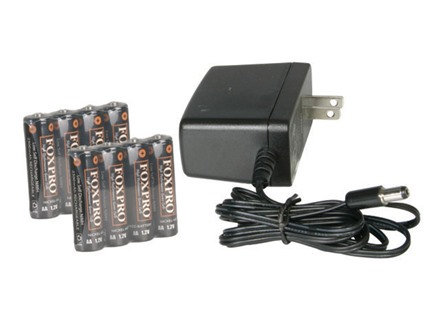 FoxPro NiMh II Battery Charger with 8 Rechargeable Batteries