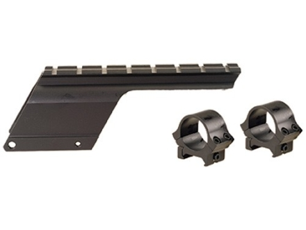 B-Square Shotgun Saddle Mount with 1&quot; Rings Remington 870 Express 20 Gauge LT Matte