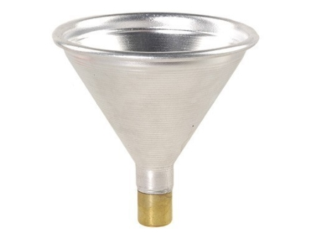 Satern Powder Funnel 323 Caliber, 8mm Aluminum and Brass