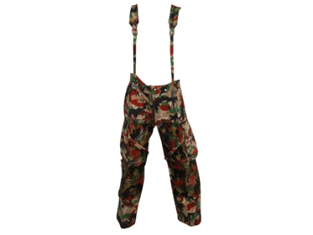 Military Surplus Swiss M70 Field Pants with Susupenders Swiss Camo