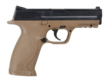 Smith &amp; Wesson M&amp;P Air Pistol 177 Caliber Black and Flat Dark Earth