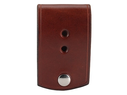 Van Horn Leather Badge Holder Leather Chestnut