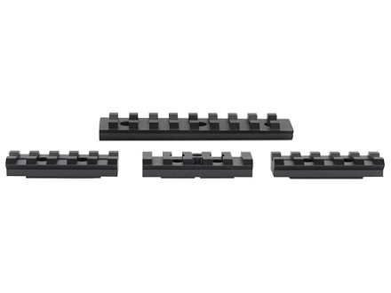 Advanced Technology 4-Piece Accessory Rail Package Fits ATI Strikeforce Handguard for AK-47, AK-74 Aluminum Black