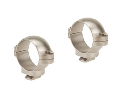 "Leupold 1"" Dual-Dovetail Rings Silver Low"