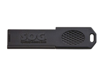 SOG Firestarter/Sharpener Ceramic and Ferrocerium Rod Polymer Black
