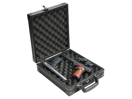 "Browning Talon Double Pistol Gun Case 13-1/2"" ABS Plastic over Aluminum Frame Black"