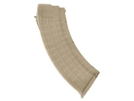 ProMag Magazine AK-47 7.62x39mm Russian 30-Round Polymer Coyote Tan