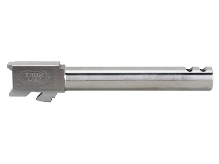 "Storm Lake Semi-Drop-In Barrel Glock 21 45 ACP 1 in 16"" Twist  5.30"" Stainless Steel with 2-Ports"