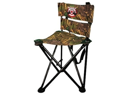 Double Bull QS3 Magnum Tri-Stool Chair Steel Frame Polyester Seat and Back Ground Swat Camo