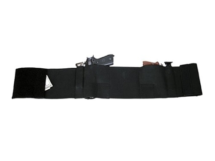 "Bulldog Deluxe Belly Band Holster Nylon Black fits 23"" to 32"" Waist"