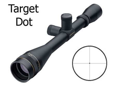 Leupold VX-II Target Rifle Scope 6-18x 40mm Adjustable Objective 1/8 MOA Target Dot Reticle Matte