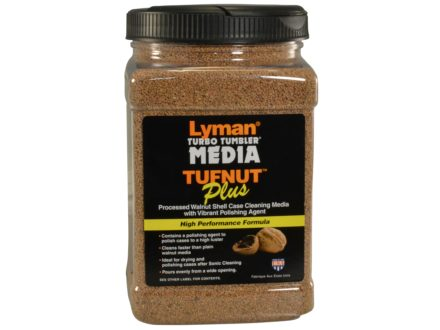 Lyman Turbo Brass Cleaning Media Treated Tufnut (Walnut) 3 lb Box