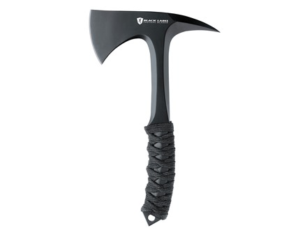 "Browning Black Label Shock N' Awe Tactical Tomahawk 2.75"" 1055 Carbon Steel Blade 10.5"" Overall Length Cord Warpped Handle Black"
